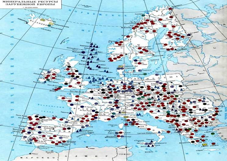 İtalya: mineraller, rahatlama özellikleri